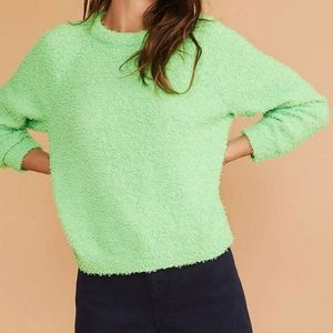 Lou & Grey Green Fizzy Sweater